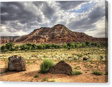 Canvas Print featuring the photograph The Road To Zion by Tammy Wetzel