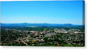 The Roanoke Valley Canvas Print