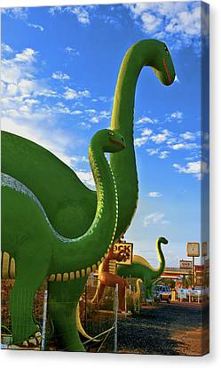 The Rock Shop Canvas Print