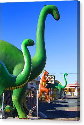 The Rock Shop Just Off Route 66 Canvas Print by Mike McGlothlen
