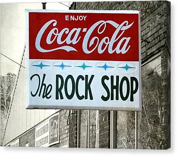 The Rock Shop Canvas Print
