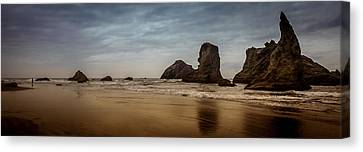 The Rocks At Bandon Canvas Print