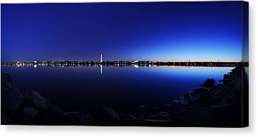 The Rocks Of The Potomac Canvas Print by Metro DC Photography