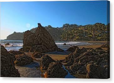 The Rocky Coast Iv Canvas Print