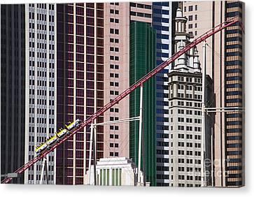 The Roller Coaster Las Vegas Nevada Canvas Print