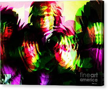 The Rolling Stones Beginnings Canvas Print