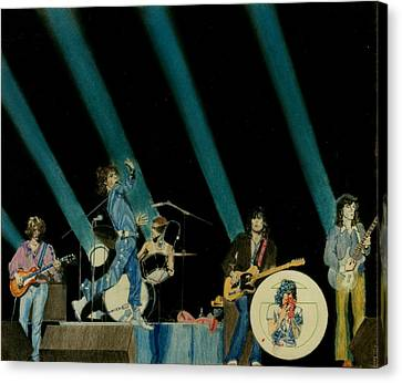 The Rolling Stones - Rip This Joint Canvas Print by Sean Connolly