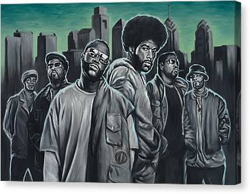 The Roots Canvas Print by Travis Knight