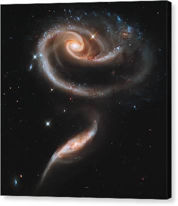 The Rose Of Galaxies Canvas Print by Nasa