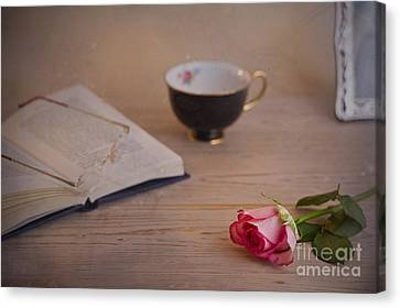 Canvas Print featuring the photograph The Rose by Trevor Chriss
