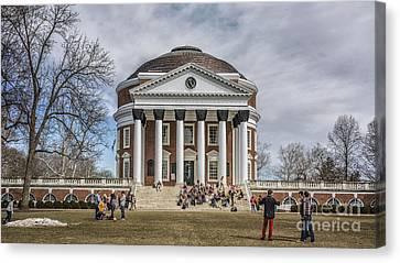 The University Of Virginia Rotunda Canvas Print