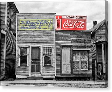 The Royal Club Canvas Print by Bill Cannon