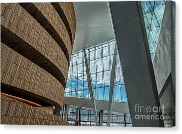 The Royal National Opera House  Interior In Oslo Norway Canvas Print