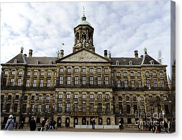 The Royal Palace Canvas Print by Pravine Chester