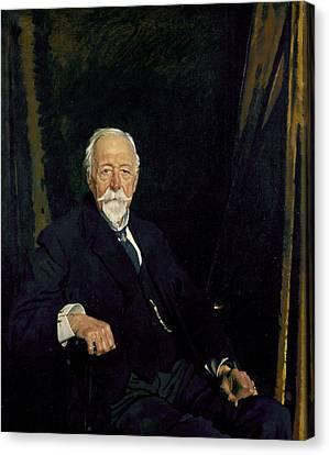 The Rt Hon. Sir Clifford Allbutt Canvas Print by Sir William Orpen