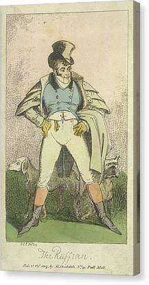 The Ruffian Canvas Print by British Library