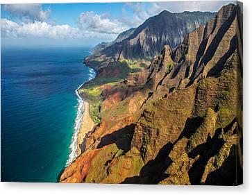 The Rugged Na Pali Coast Canvas Print by Guy Schmickle