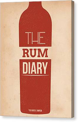Mike Taylor Canvas Print - The Rum Diary by Mike Taylor