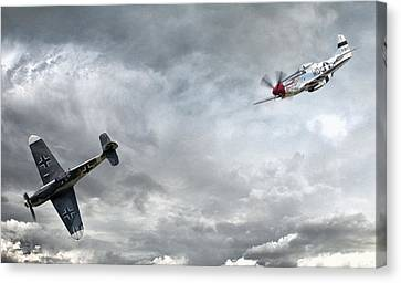The Rush Canvas Print by Peter Chilelli