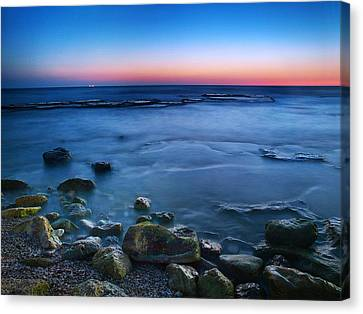 The Rustle Of The Waters Canvas Print by Meir Ezrachi