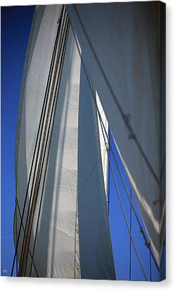Sail Cloth Canvas Print - The Sails by Karol Livote