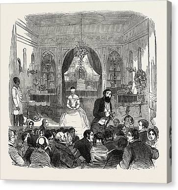 The Salle De Robin, Piccadilly, London Canvas Print