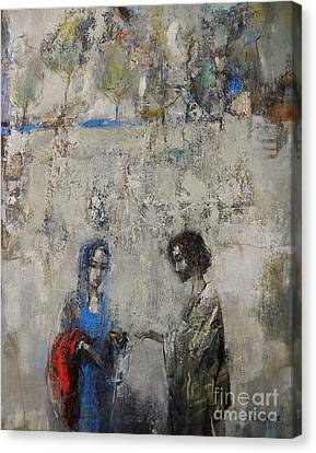 Canvas Print - The Samaritan Woman At The Well by Grigor Malinov