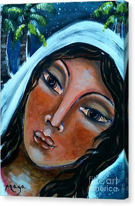 The Samaritan Woman Canvas Print by Maya Telford