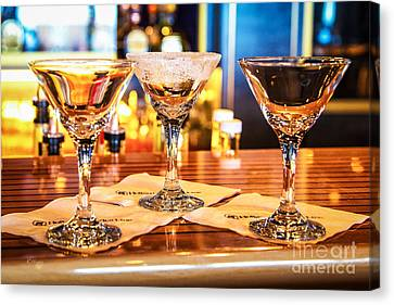 The Martini Sampler Canvas Print by Rene Triay Photography