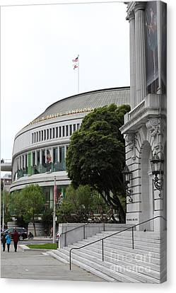 Symphony Hall Canvas Print - The San Francisco Symphony 5d22487 by Wingsdomain Art and Photography