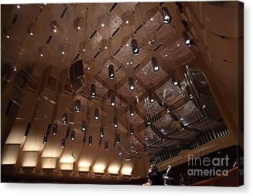 Symphony Hall Canvas Print - The San Francisco Symphony 5d22498 by Wingsdomain Art and Photography