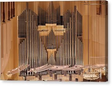 Symphony Hall Canvas Print - The San Francisco Symphony 5d22504 by Wingsdomain Art and Photography