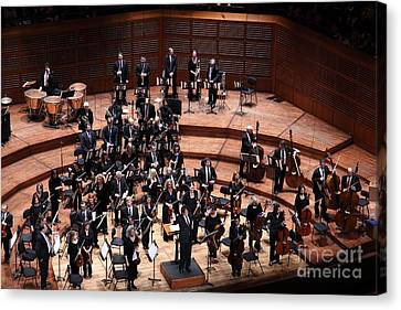 Symphony Hall Canvas Print - The San Francisco Symphony 5d22534 by Wingsdomain Art and Photography
