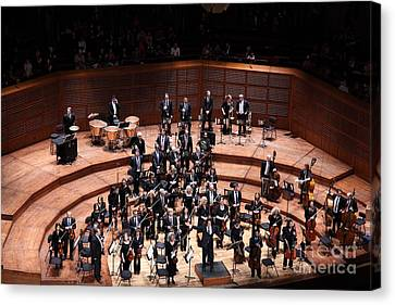 Symphony Hall Canvas Print - The San Francisco Symphony 5d22538 by Wingsdomain Art and Photography