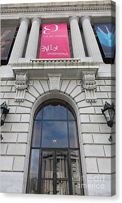 The San Francisco War Memorial Opera House - San Francisco Ballet 5d22582 Canvas Print by Wingsdomain Art and Photography
