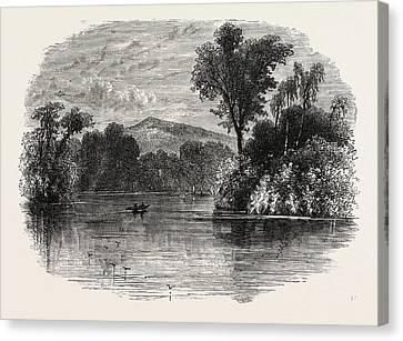 The San Juan River, Nicaragua Canvas Print by Nicaraguan School
