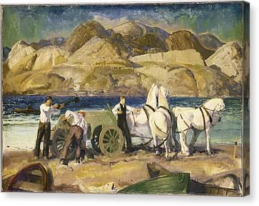 The Sand Cart Canvas Print