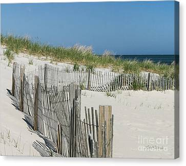The Sands Of Time Canvas Print by Michelle Wiarda