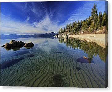 Canvas Print featuring the photograph The Sands Of Time by Sean Sarsfield