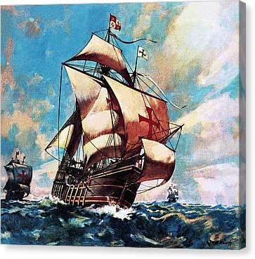 The Santa Maria Canvas Print