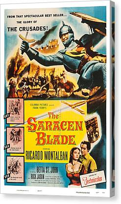 Betta Canvas Print - The Saracen Blade, Us Poster Art by Everett