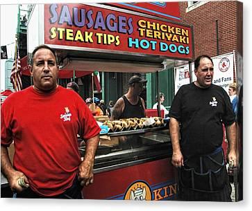 The Sausage Kings - Boston Canvas Print