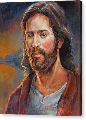 The Savior Canvas Print by Steve Spencer