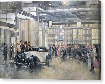 The Savoy  Canvas Print by Peter Miller