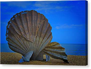 The Scallop Canvas Print
