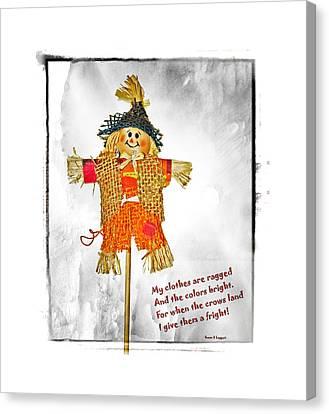 The Scarecrow Canvas Print by Susan Leggett