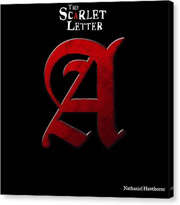 The Scarlet Letter Canvas Print by Dan Sproul
