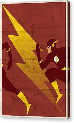The Scarlet Speedster Canvas Print