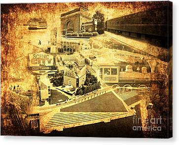 The Scenic City Canvas Print by Joe A