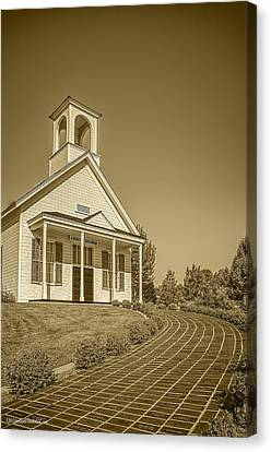The Schoolhouse Hdr Canvas Print
